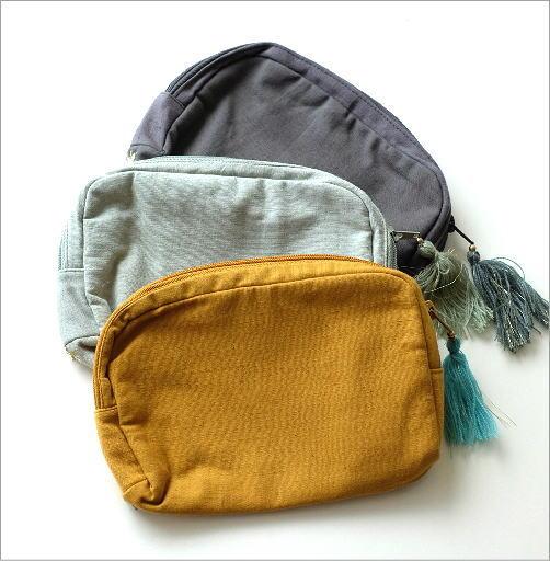 ビーズ刺繍ポーチB 3カラー(5)