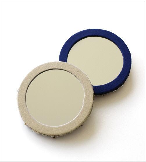 ビーズ刺繍ミニミラーC 2カラー(2)