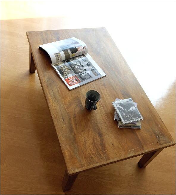 マンゴーウッド ローテーブル(1)