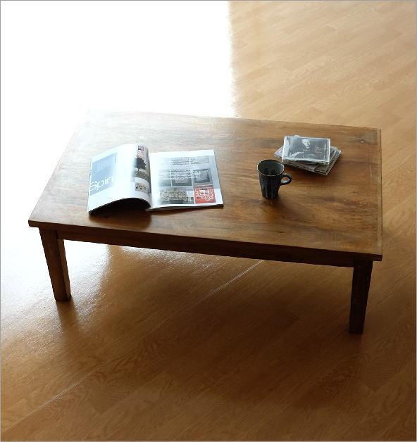 マンゴーウッド ローテーブル(5)