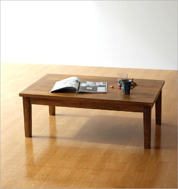 マンゴーウッド ローテーブル(6)