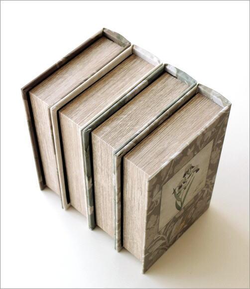 ブックボックス フラワーラベル4タイプ(3)