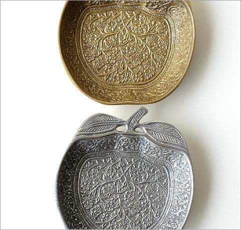 ブラスアップルプレート2カラー(2)