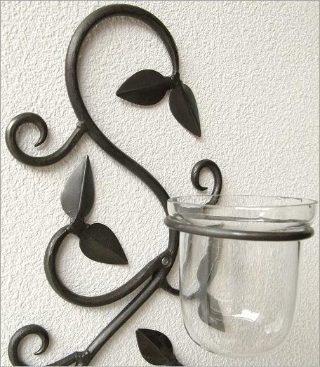 花瓶 壁掛けフラワーベース・3カップ(3)