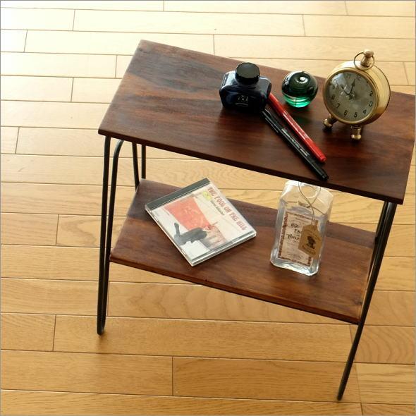 シーシャム2段サイドテーブル(1)