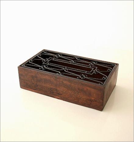 アイアンティッシュケースボックス D(5)