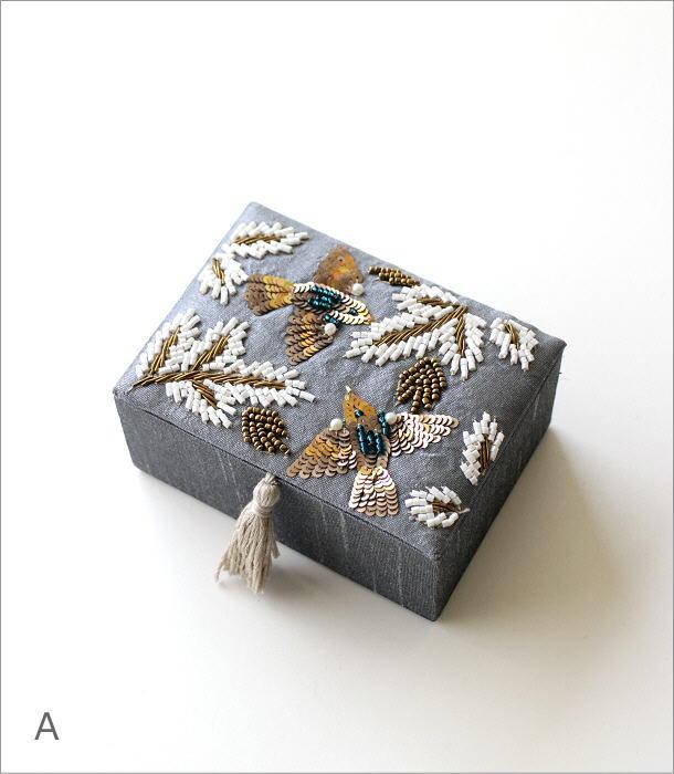 ザリ&ビーズ刺繍BOX 2カラー(4)