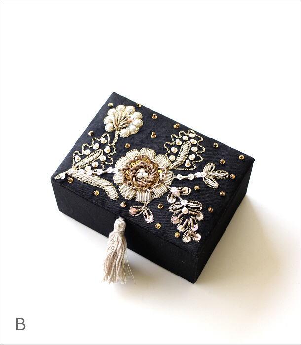 ザリ&ビーズ刺繍BOX 2カラー(5)
