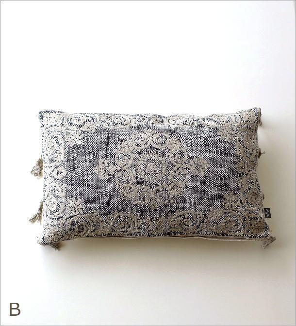 刺繍レクタングルクッション3タイプ(5)