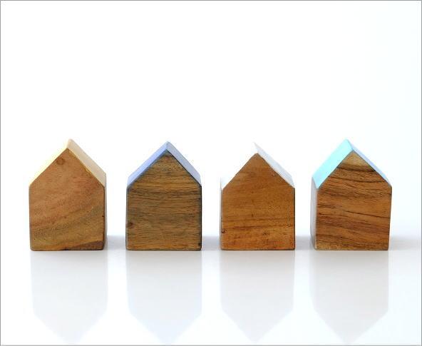 ウッドハウスブロック 4カラー(4)