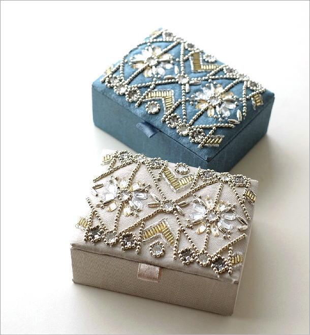 ビーズ刺繍BOX 2カラー(1)