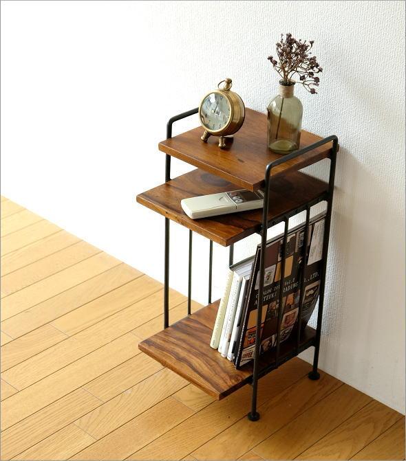 アイアンとシーシャムのサイドテーブル A(2)