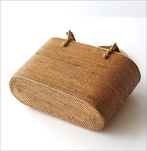 シンプル編みアタハンドルバッグ(4)
