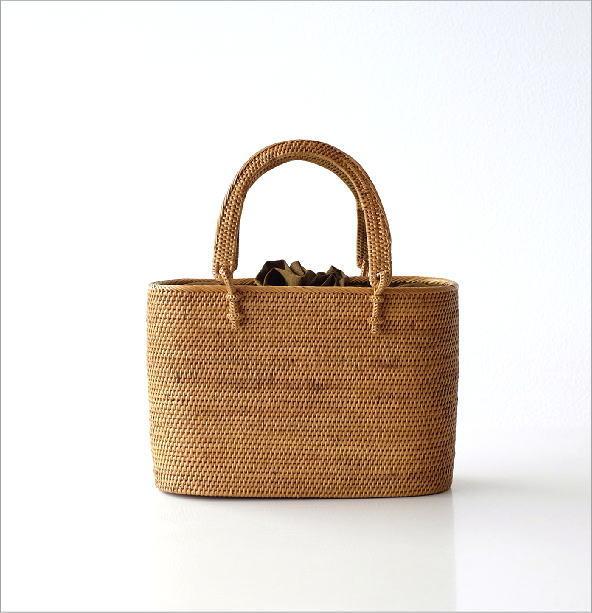 シンプル編みアタハンドルバッグ(5)