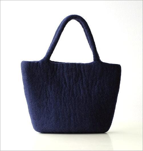 フェルトナイトスカイ刺繍横長バッグ(2)