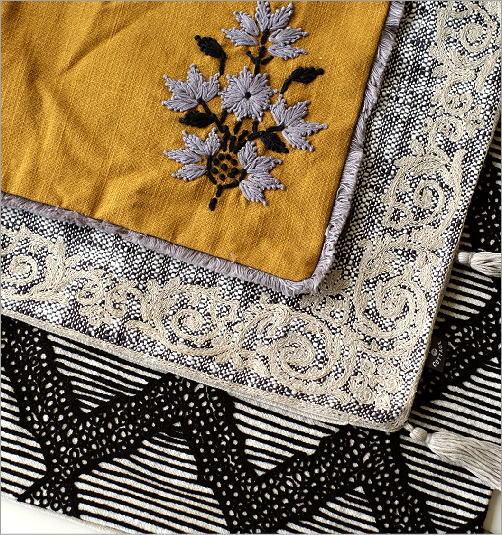 刺繍クッションカバー3タイプ(3)