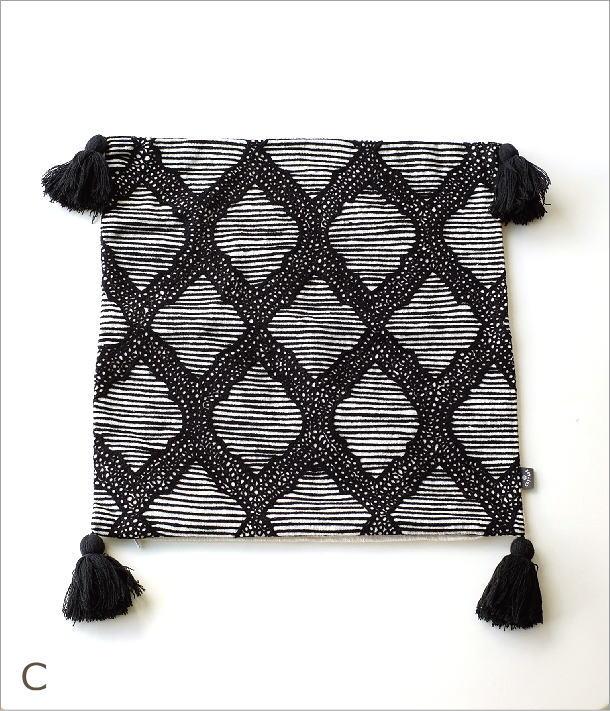 刺繍クッションカバー3タイプ(6)