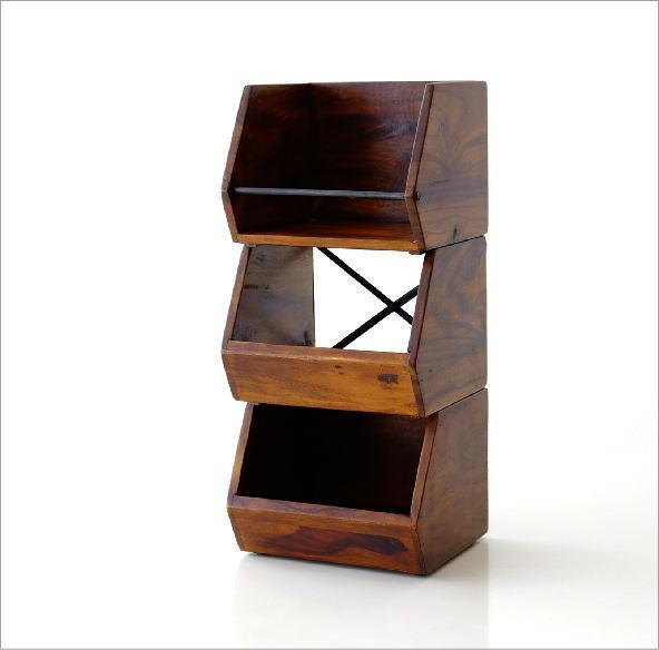 シーシャムウッド スタッキングボックス 3タイプ(6)