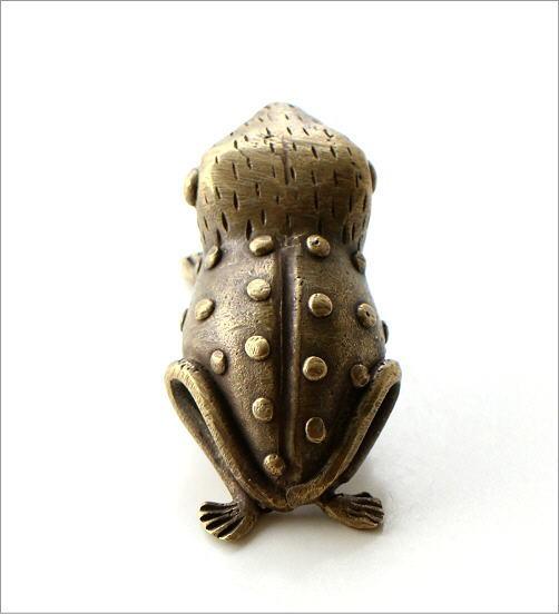 ガーナのブラスカエルのオブジェ(2)