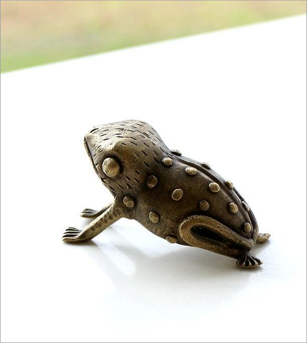 ガーナのブラスカエルのオブジェ(5)
