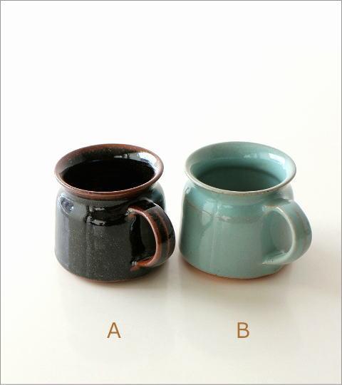 陶器のマグカップ 5カラー(2)