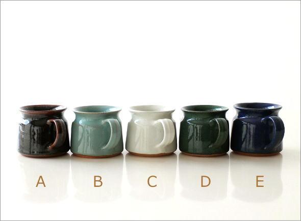 陶器のマグカップ 5カラー(5)