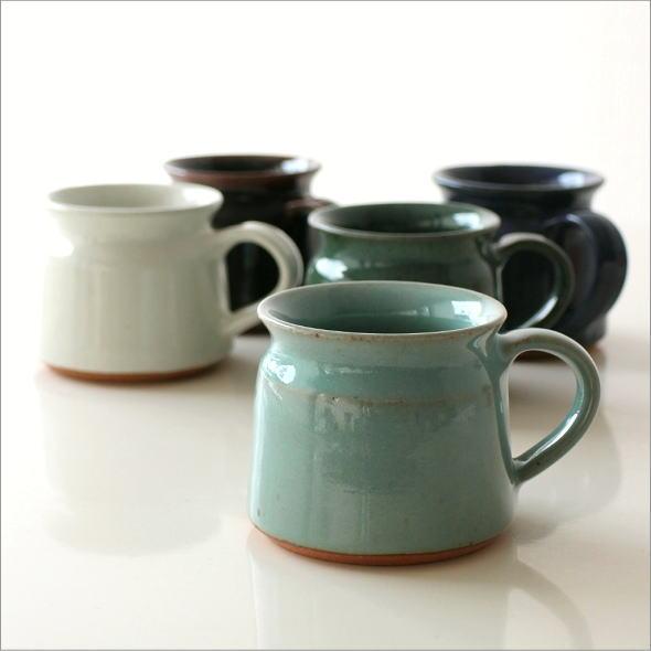 陶器のマグカップ 5カラー(6)