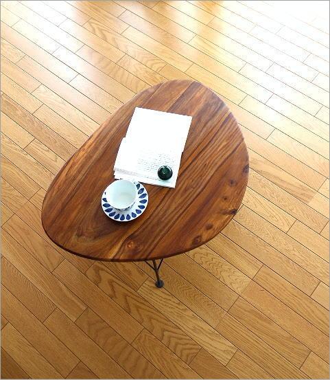 シーシャムオーバルローテーブル(2)