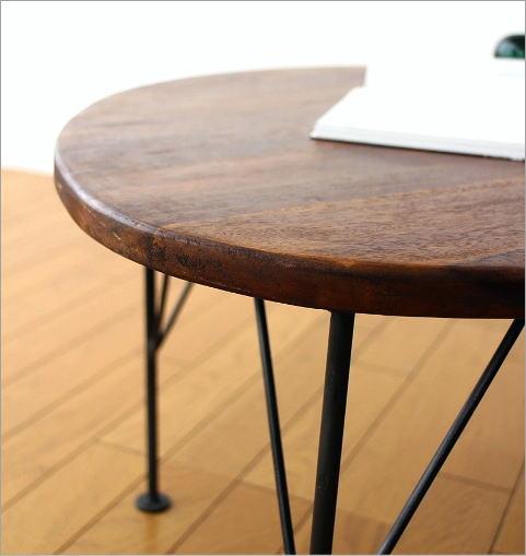 シーシャムオーバルローテーブル(4)