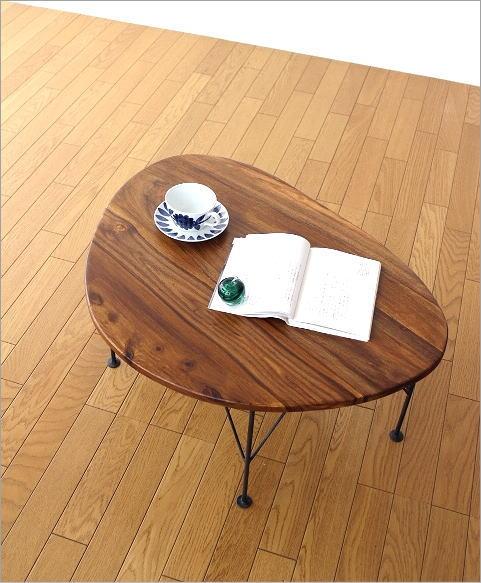 シーシャムオーバルローテーブル(6)
