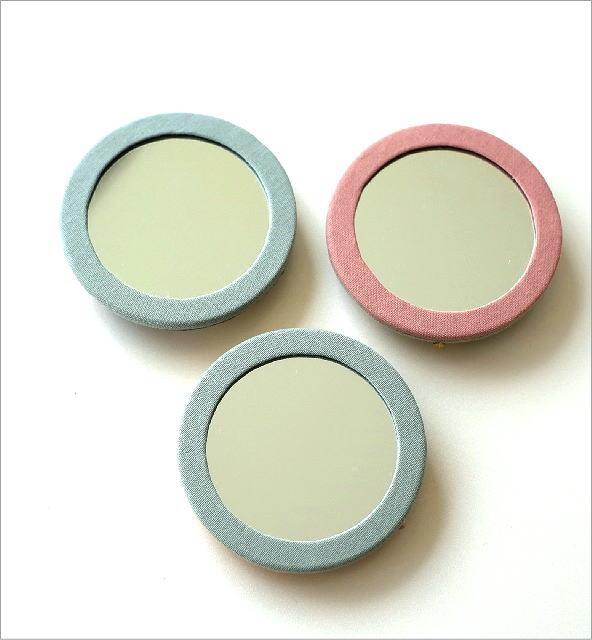 ビーズ刺繍ミニミラー 3カラー(2)