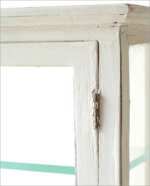 マンゴーウッドのガラスケース ホワイト(2)