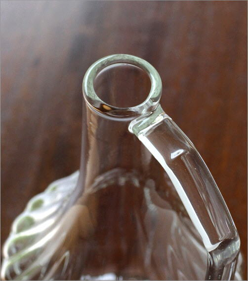 ハンドル付きガラスベースS(2)