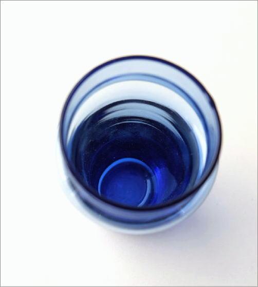 モロッコチャイグラス Sブルー(2)