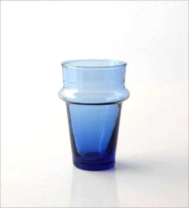 モロッコチャイグラス Sブルー(3)