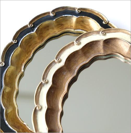 波型オーバルのレトロミラー2カラー(2)