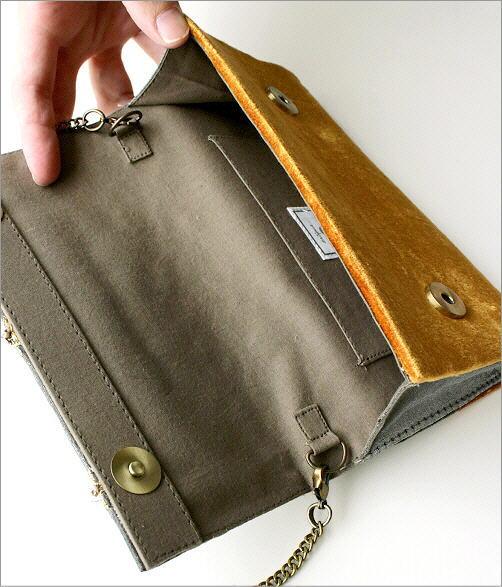 ビーズ刺繍クラッチバッグ 3タイプ(3)
