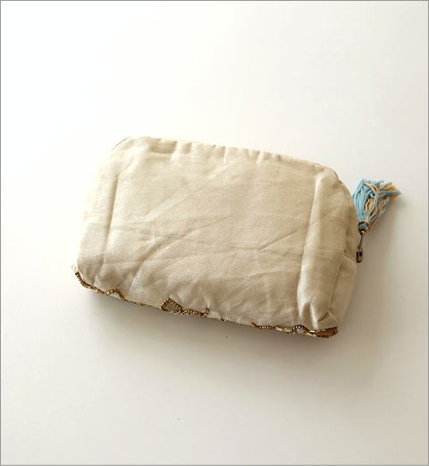 ビーズ刺繍ポーチ 3タイプ(3)