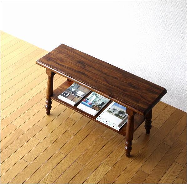 シーシャム棚付きベンチ(1)