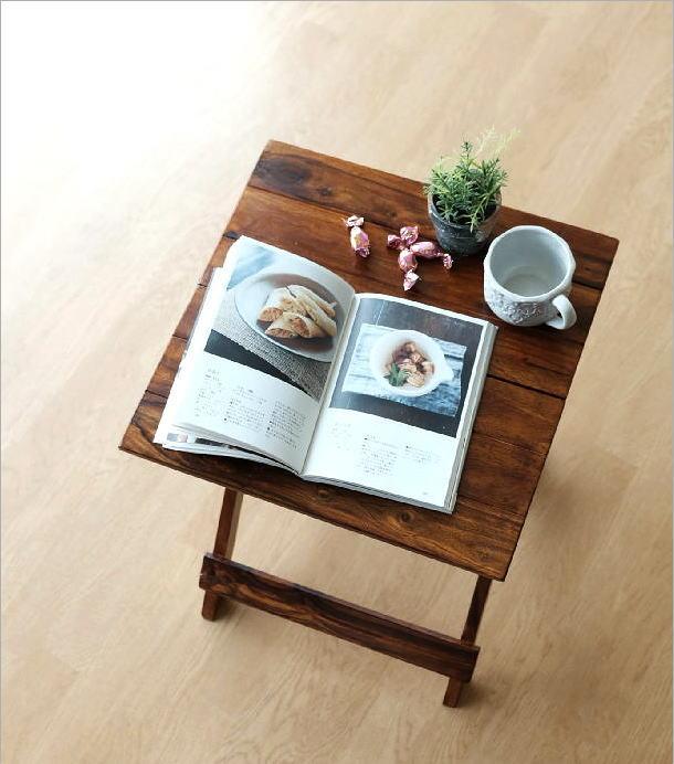 ウッド折り畳みテーブル(1)