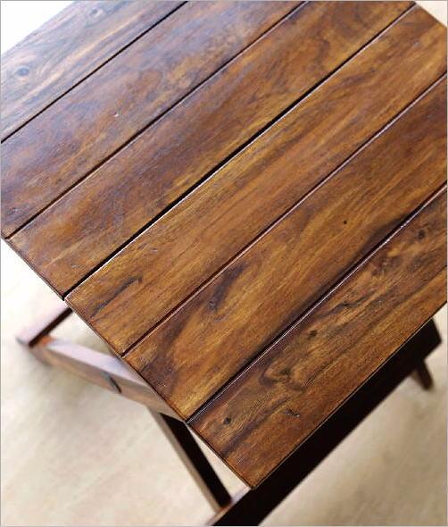 ウッド折り畳みテーブル(2)