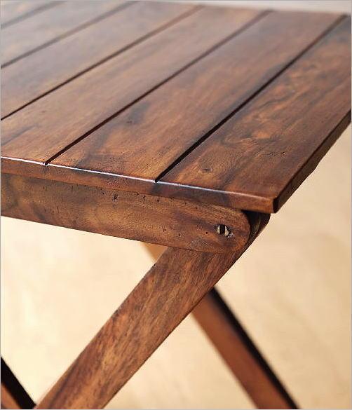 ウッド折り畳みテーブル(3)