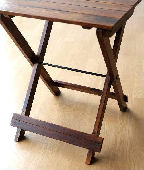 ウッド折り畳みテーブル(5)