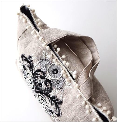 ビーズ刺繍バッグ 3カラー(2)
