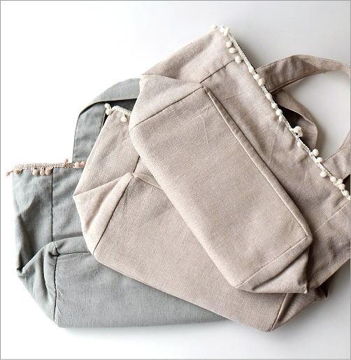 ビーズ刺繍バッグ 3カラー(4)