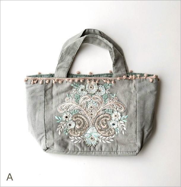 ビーズ刺繍バッグ 3カラー(5)