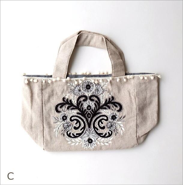 ビーズ刺繍バッグ 3カラー(7)