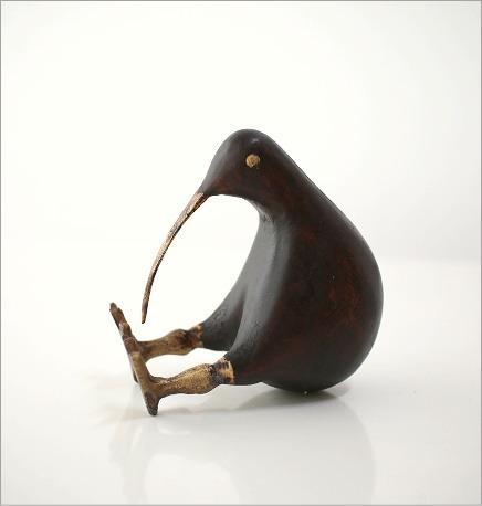 キウイ木彫り(小)(5)