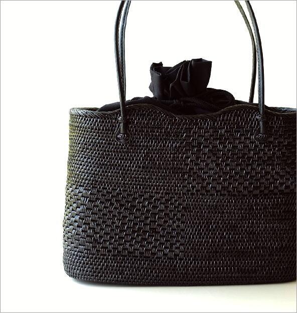 アタ飾り編みオーバルバッグ(1)