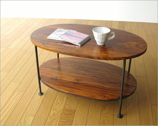シーシャムウッドオーバルテーブル